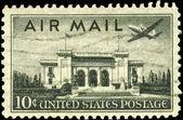 Usa - circa 1947 pan american — Foto de Stock
