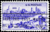 USA - CIRCA 1950 Kansas City — Stock Photo