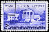 Usa - ca. 1950 oberste gerichtsgebäude — Stockfoto