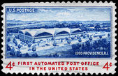 USA - CIRCA 1960 Automated Post Office — Stock Photo