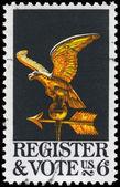 USA - CIRCA 1968 Eagle Weather Vane — Stock Photo