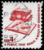 USA - CIRCA 1975 Books — Stock Photo