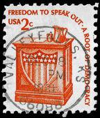 USA - CIRCA 1975 Speaker Stand — Foto de Stock