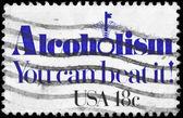 Amerika Birleşik Devletleri - 1981 alkolizm yaklaşık — Stok fotoğraf