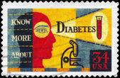USA - CIRCA 2001 Diabetes — Stock Photo