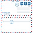 Airmail envelope — Stock Vector