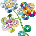 CD Flower — Stock Vector #10040365