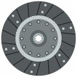 Stock Vector: Clutch disk