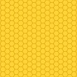 Honeycomb pattern — Stockvektor