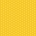 padrão de favo de mel — Vetorial Stock