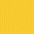 Honeycomb pattern — Stock Vector