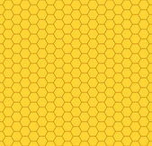 Honeycomb pattern — Vettoriale Stock