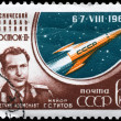 USSR - CIRCA 1961 Major Titov - Stock Photo