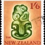 NEW ZEALAND - CIRCA 1960 Tiki — Stock Photo