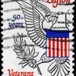 USA - CIRCA 1969 Eagle from Great Seal - Stock Photo