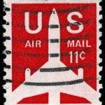 Постер, плакат: USA CIRCA 1971 Airliner