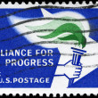 USA - CIRCA 1963 Alliance Emblem — Stock Photo