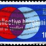 Постер, плакат: USA CIRCA 1975 Collective Bargaining