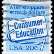 Royalty-Free Stock Photo: USA - CIRCA 1982 Consumer Education