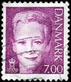 DENMARK - CIRCA 2000 Queen Margrethe II — Stock Photo