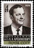 USSR - CIRCA 1974 Artsimovich — Stock Photo