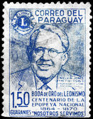 PARAGUAY - CIRCA 1967 Melvin Jones — Stock Photo