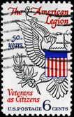 USA - CIRCA 1969 Eagle from Great Seal — Stock Photo