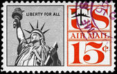 USA - CIRCA 1959 Liberty — Stock Photo