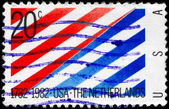 USA - CIRCA 1982 U.S. - Netherlands — Stock Photo