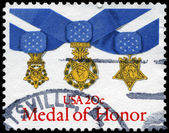 USA - CIRCA 1983 Medal of Honor — Stockfoto