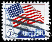 USA - CIRCA 1963 Flag — Stock Photo
