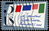 USA - CIRCA 1966 Stamped Cover — Stock Photo