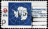 USA - CIRCA 1971 Antarctica — Stock Photo