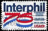USA - CIRCA 1976 Interphil — Stock Photo