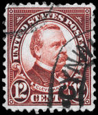 USA - CIRCA 1923 Grover Cleveland — Stock Photo