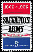 USA - CIRCA 1965 Salvation Army — Stock Photo