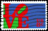 Usa - circa 1973 liefde — Stockfoto