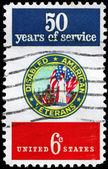 USA - CIRCA 1970 Disabled Veterans — Stock Photo
