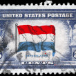 USA - CIRCA 1943 Flag of Netherlands — Stock Photo