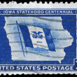 USA - CIRCA 1946 Iowa Statehood - Stock fotografie