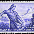 USA - CIRCA 1954 Sower - 图库照片