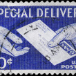 Stock Photo: US- CIRC1954 Special Delivery
