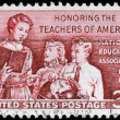 USA - CIRCA 1957 School Teacher — Stock Photo #9447747