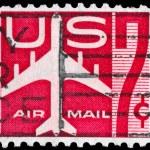 Постер, плакат: USA CIRCA 1960 Airliner