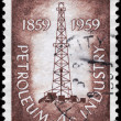 USA - CIRCA 1959 Oil Derrick — Stock Photo