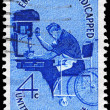 Stock Photo: US- CIRC1960 Employ Handicapped
