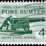 USA - CIRCA 1961 Fort Sumter — Stock Photo