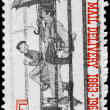 Постер, плакат: USA CIRCA 1963 Letter Carrier