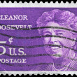 USA - CIRCA 1963 Eleanor Roosevelt — Stock Photo