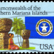 Stock Photo: US- CIRC1993 MarianIslands